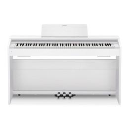 CASIO PRIVIA PX870 WE WHITE PIANO PIANOFORTE DIGITALE BIANCO  88 TASTI PESATI CON MOBILE PX-870 WH