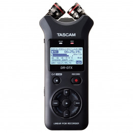 TASCAM DR07X REGISTRATORE DIGITALE STEREO CON INTERFACCIA USB 2 IN/2 OUT DR-07-X