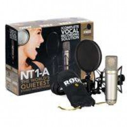 RODE NT1-A COMPLETE VOCAL  RECORDING SOLUTION NT1A