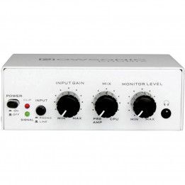NOWSONIC PHONIX PHONO PREAMPLIFICATORE A DUE CANALI USB