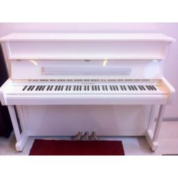 W. HOFFMANN V112 VISION PIANO PIANOFORTE BIANCO VERTICALE ACUSTICO  REALIZZATO DALLA C. BECHSTEIN EUROPE V-112
