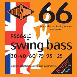 ROTOSOUND RS666LC MUTA CORDE PER BASSO 6 CORDE  RS-66-6-LC