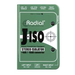 RADIAL J-ISO BOX CONVERTITORE DI SEGNALE STEREO PASSIVA ( +4 DB A - 10 DB )