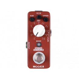MOOER PURE OCTAVE PEDALE  EFFETTO OCTAVER A PEDALE PER CHITARRA