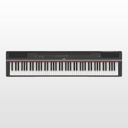 YAMAHA P125 B BLACK PIANO PIANOFORTE DIGITALE DA PALCO 88 NERO TASTI PESATI P-125B