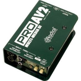 RADIAL PRO AV2 DI BOX STEREO AV-2