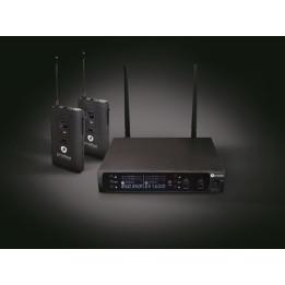 PRODIPE UHF B210 DSP DUO VOCAL RADIOMICROFONO CON UNICO RICEVITORE SOLO INSTRUMENTAL  B-210
