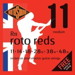 ROTOSOUND R11 MUTA CORDE CHITARRA ELETTRICA  11 14 18 28w 38w 48w R-11
