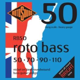 ROTOSOUND RB50 MUTA CORDE PER BASSO 4 CORDE .50, .70, 90, .110 RB-50