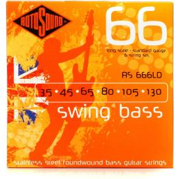 ROTOSOUND RS666LD MUTA CORDE PER BASSO 6 CORDE .35, .45, .65, .80, .105, .130 RS-66-6-LD
