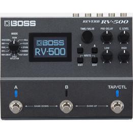 BOSS RV500 REVERB PEDALE EFFETTO RIVERBERO PER CHITARRA RV-500