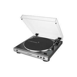AUDIO TECHNICA  AT-LP60X USB GM GIRADISCHI CON TRASMISSIONE A CINGHIA CON USB GUNMETAL/BLACK