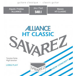SAVAREZ 540J ALLIANCE HT CLASSIC MUTA CHITARRA CLASSICA TENSIONE FORTE 540-J