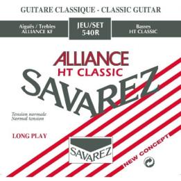 SAVAREZ 540R ALLIANCE HT CLASSIC MUTA CHITARRA CLASSICA TENSIONE NORMALE 540-R