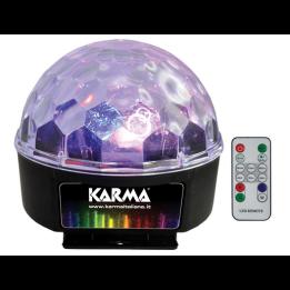 KARMA DJ 355LED  EFFETTO LUCE A LEDS 6 X 3w DJ355 LED