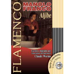 FLAMENCO CLAUDE WORMS LIBRO CON CD MANOLO FRANCO ALJIBE