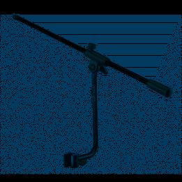 QUIKLOK A107BK ASTA MICROFONO MICROFONICA CON MORSETTO DI AGGANCIO A-107-BK