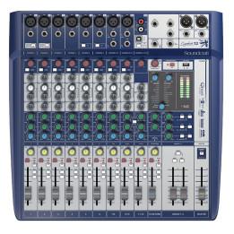 SOUNDCRAFT SIGNATURE 12 MIXER USB CON EFFETTI  12 CANALI SIGNATURE12