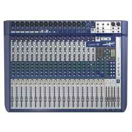 SOUNDCRAFT SIGNATURE 22 MIXER USB CON EFFETTI  22 CANALI SIGNATURE22