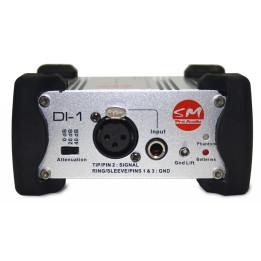 SM PRO AUDIO DI1 BOX D.I. DIRECT INJECTION BOX ATTIVA DI-1