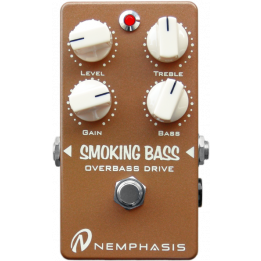 NEMPHASIS SMOKING BASS OVERDRIVE PEDALE EFFETTO OVERDRIVE PER BASSO
