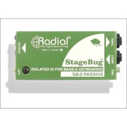 RADIAL SB2 STAGEBUG DIRECTBOX PASSIVA PER BASSO E TASTIERA