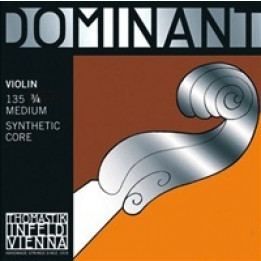 THOMASTIK DOMINANT 135 3/4 SYNTHETIC CORE  MUTA DI CORDE PER VIOLINO 3/4