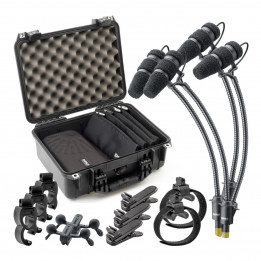 DPA d:vote CORE 4099 KIT-4099-DC-4R Rock TOURING KIT Kit completo per 4 microfoni