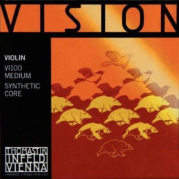 THOMASTIK INFELD VI100 3/4 MEDIUM VISION MUTA DI CORDE PER VIOLINO VI-100