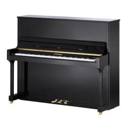 W. HOFFMANN BY BECHSTEIN TRADITION T128 PIANO PIANOFORTE ACUSTICO VERTICALE NERO LUCIDO 128 CM T-128