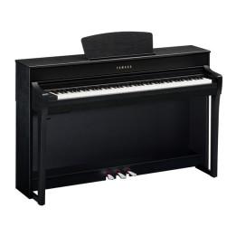 YAMAHA CLP735B BLACK NERO CLAVINOVA PIANO PIANOFORTE DIGITALE CON MOBILE 88 TASTI PESATI CLP-735-B