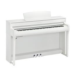 YAMAHA CLP745WH WHITE BIANCO CLAVINOVA PIANO PIANOFORTE DIGITALE CON MOBILE 88 TASTI PESATI CLP-745-WH