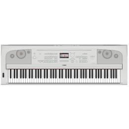 YAMAHA DGX670 WH PIANO PIANOFORTE DIGITALE 88 TASTI PESATI BIANCO CON ARRANGER DGX-670WH