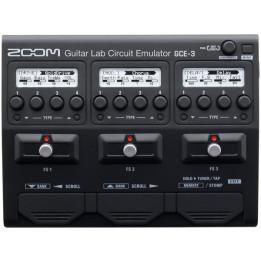 ZOOM GCE3 EMULATORE PROCESSORE DI EFFETTI PER CHITARRA SU INTERFACCIA USB 2.0 CON DSPG1X MULTIEFFETTO GCE-3