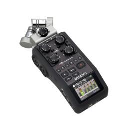 ZOOM H6 REGISTRATORE PALMARE A 6 TRACCE CON INTERFACCIA USB H-6