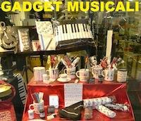 Gadget musicali, regali musicali, vasto assortimento
